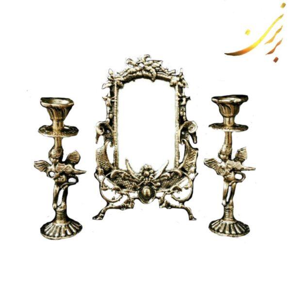 آینه شمعدان برنزی هفت سین