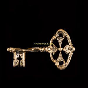 جا کلیدی برنزی طرح کلید