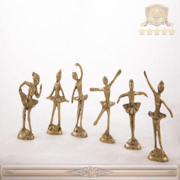 ست رقصنده (بالرین) برنجی هندی ۱۱۴۱