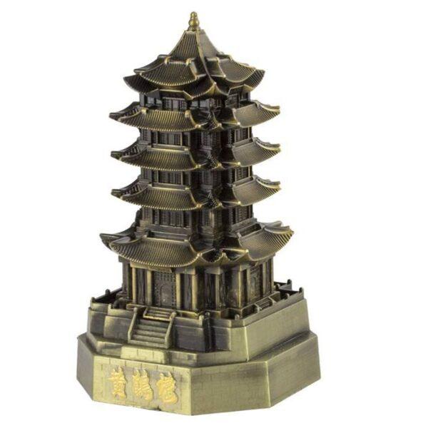 ماکت تزئینی طرح برج پاگودا گوانجو مائو