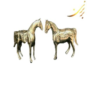 مجسمه اسب برنزی سایز متوسط