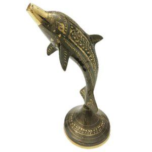 مجسمه برنزی جام هنر مدل دلفین کد ۶