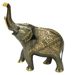مجسمه برنزی جام هنر مدل فیل کد ۸