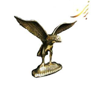 مجسمه برنزی عقاب پر گشوده کوچک