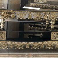 میز تلویزیون برنز کد ۳۴۹ سایز ۱۴۰