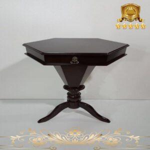 میز هشت ضلعی سه پایه