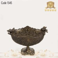 میوه خوری برنجی پایه دار ۱۳۴۵