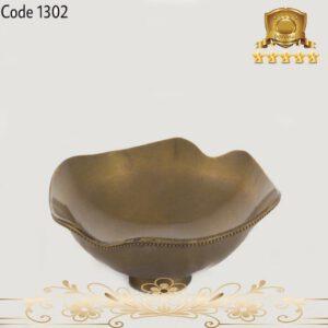 کاسه برنجی هندی آنتیک ۱۳۰۲