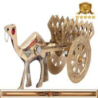 گاری برنجی هندی کد ۱۹