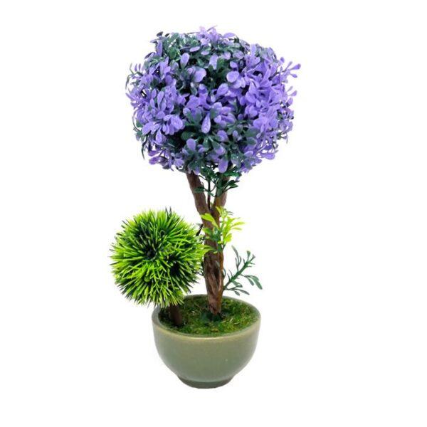 گلدان به همراه مصنوعی مدل ۰۳۷