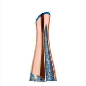 گلدان مسی رزدیس ارتفاع ۲۲ سانتیمتر