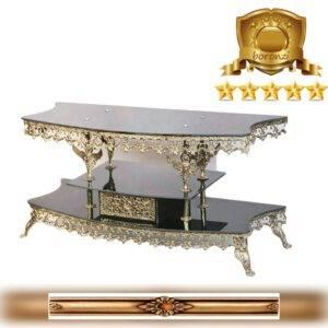 میز ال سی دی برنزی خم مجید قابل سفارش