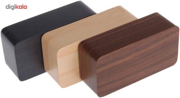 ساعت رومیزی وودن کلاک مدل Woody Box