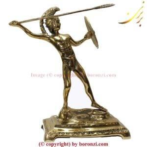 تندیس سرباز رومی برنزی