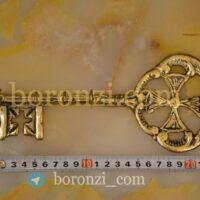جا کلیدی برنزی طرح کلید کوچک