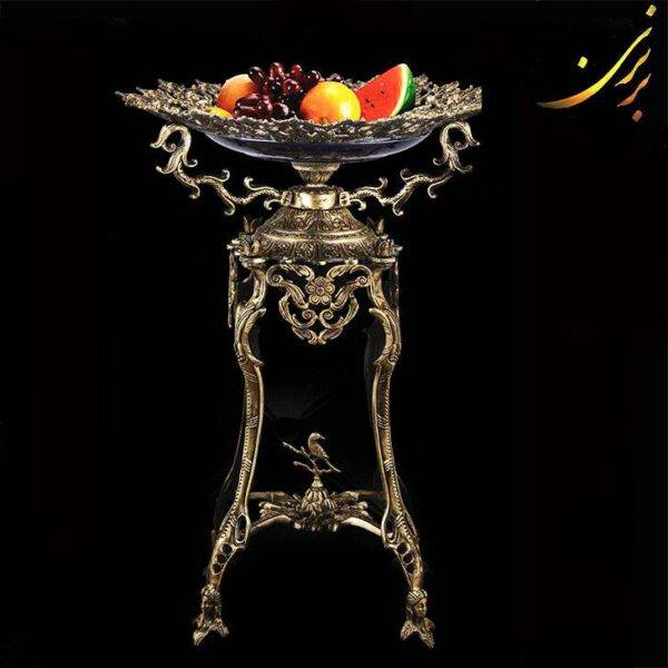 میوه خوری پایه دار آلومینیومی 135