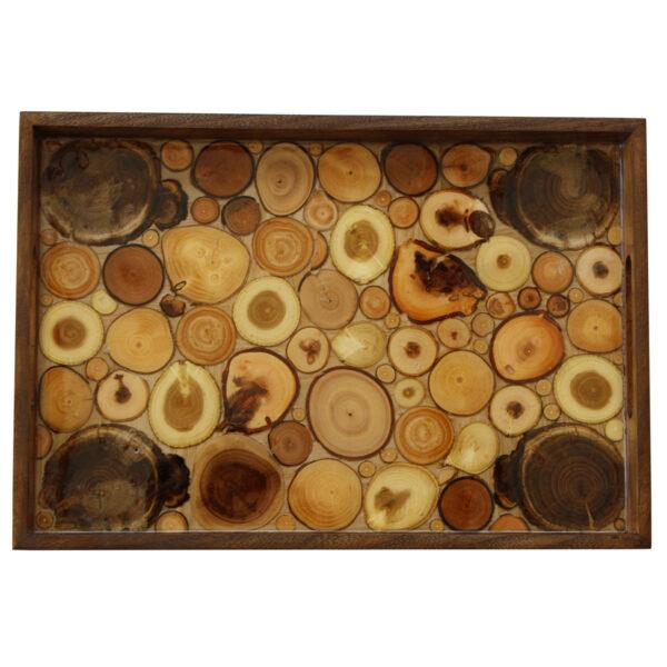 سینی مدل Wooden Bees