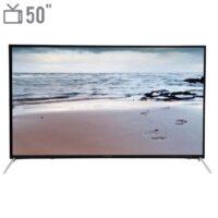 تلویزیون ال ای دی هوشمند آکسون مدل XT-5081US سایز 50 اینچ