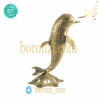 مجسمه برنزی دلفین