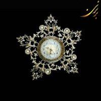 ساعت دیواری برنزی طرح ستاره