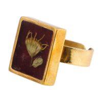 انگشتر برنجی گالری پرگل کد 187015