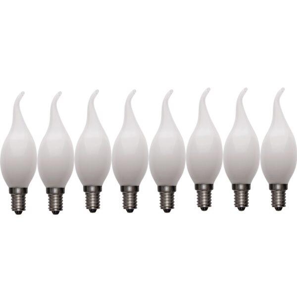 لامپ ال ای دی فیلامنتی 4 وات اوکس مدل 304Milkyx8 پایه E14 بسته 8 عددی