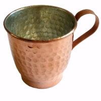 لیوان مسی طرح فنجان کد 4