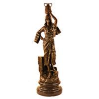 مجسمه برنزی زن کد 0013
