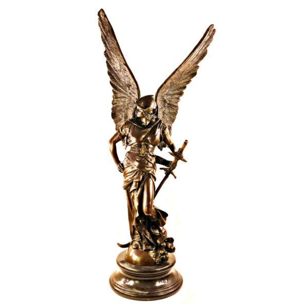 مجسمه برنزی طرح فرشته جنگجو کد 0027
