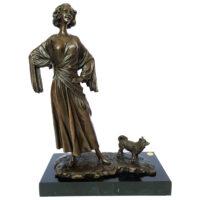 مجسمه برنزی لاکچری اچ کی کد EPA-419