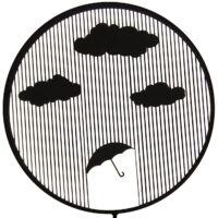 چراغ دیواری مستر فر طرح چتر
