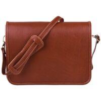 کیف دوشی چرم طبیعی پایا چرم مدل 02 طرح اسپرت دنا