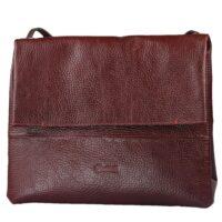 کیف دوشی چرم طبیعی کهن چرم مدل V92-3