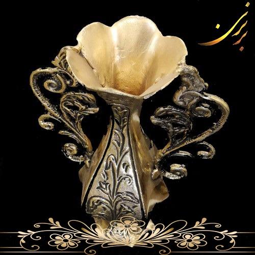 گلدان برنزی رومیزی کد1