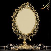 آینه برنزی کوچک