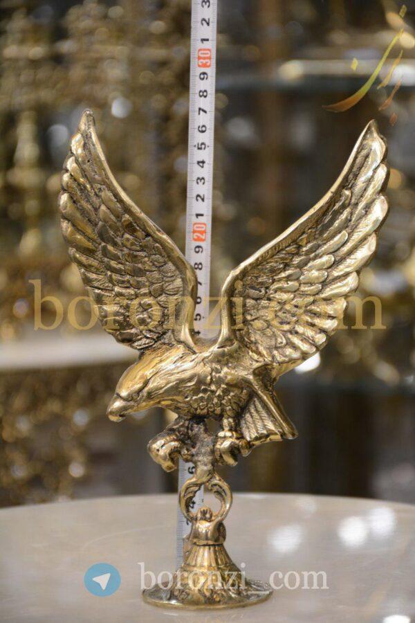 مجسمه برنزی عقاب رومیزی