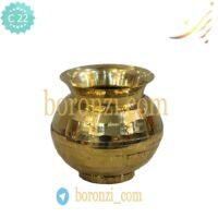گلدان-قندان برنجی کد ۴۶۱-۴۶۲-۴۶۳