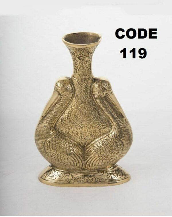 گلدان برنجی کد ۱۱۹