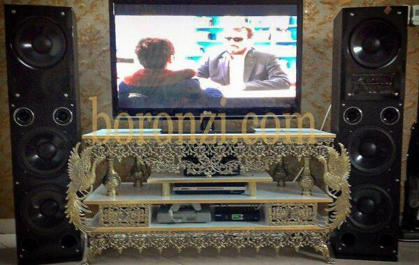میز تلویزیون برنزی اسلیمی
