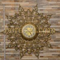 ساعت دیواری برنزی ستاره