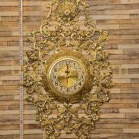 ساعت دیواری برنزی پروانه