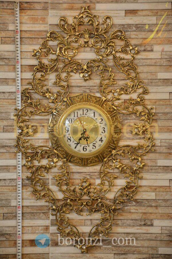 ساعت دیواری برنزی طرح سناتور