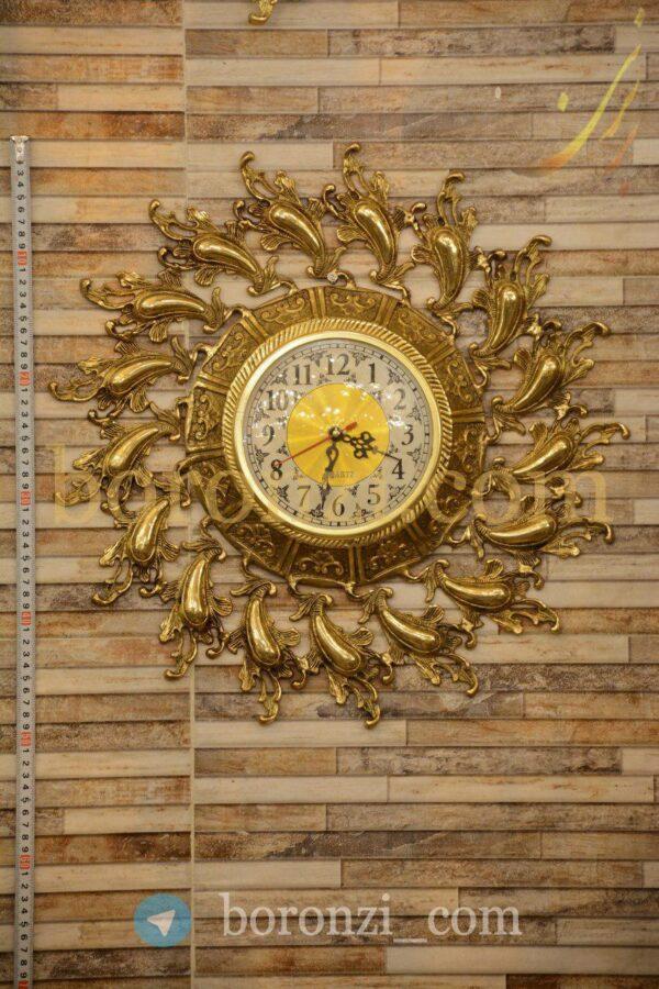 ساعت دیواری برنزی خورشیدی