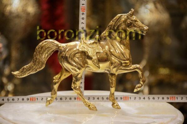 اسب درشکه بزرگ برنزی