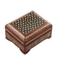 جعبه جواهرات خاتم کاری کد 851