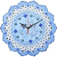 ساعت مسی میناکاری صالحی زاده طرح کندو 00-25 سایز 30 سانتیمتر