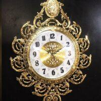 ساعت دیواری برنزی مدل آناناسی