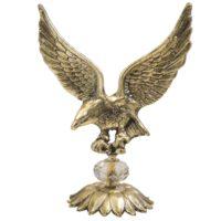 مجسمه عقاب پایه کریستال کد 020030016