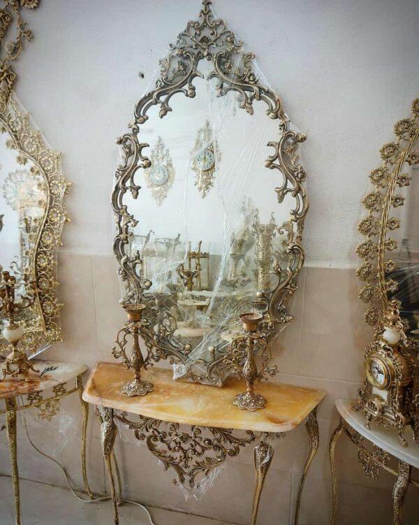 آینه کنسول برنز سلطنتی